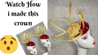 How to make Fascinators with Spiral designs  DIY Tutorial