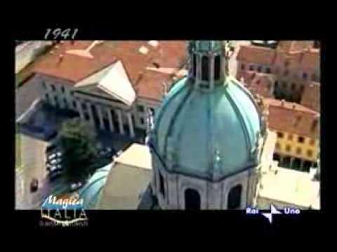 RAI UNO - Magica Italia - Clemente Tajana - Le bellezze architettoniche di Como