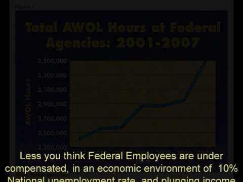 Federal Employees Go AWOL!