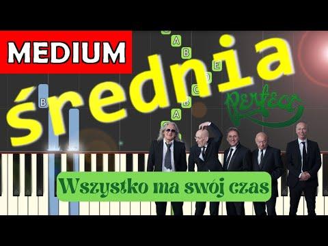 🎹 Wszystko ma swój czas (Perfect) - Piano Tutorial (średnia wersja) 🎹