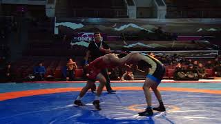 Спорт. Вольная борьба. Турнир Кожомкула-2018. День 1 Мат B (Часть 3)