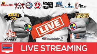Live the 1st Hx Karate Open Championships (england)  2018