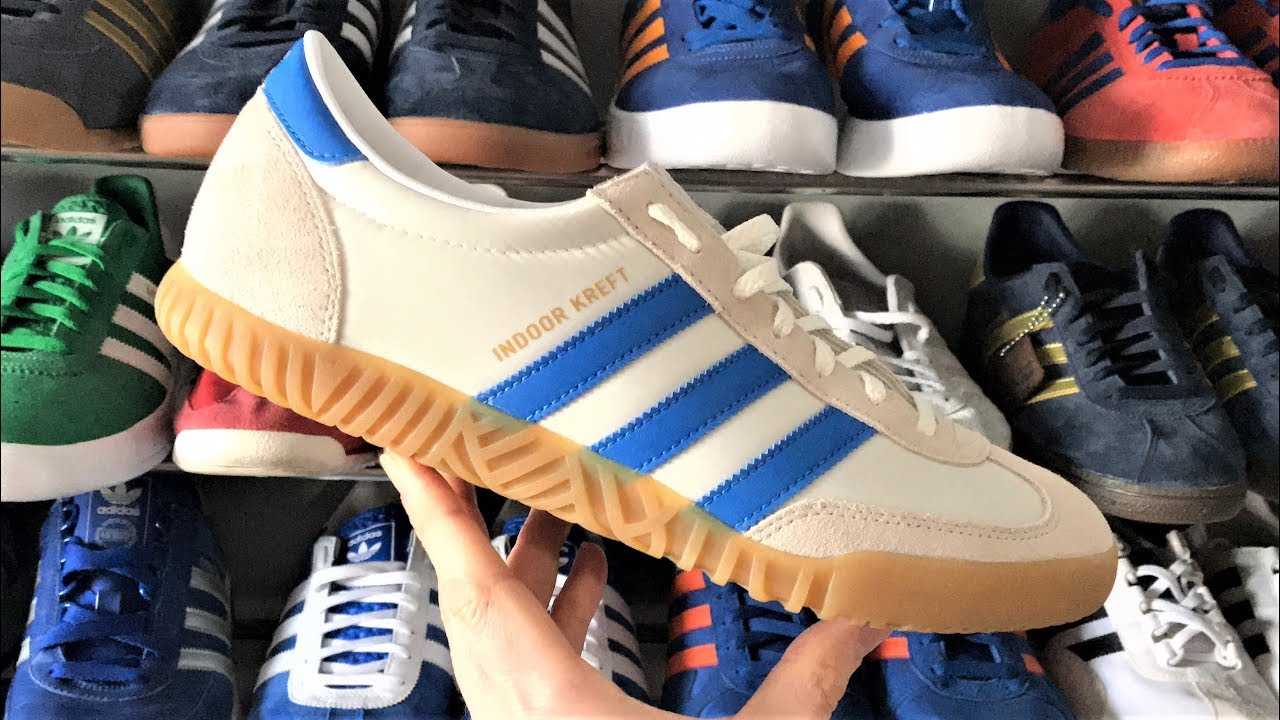 adidas indoor kreft spzl (unboxing & a piedi la revisione) su youtube