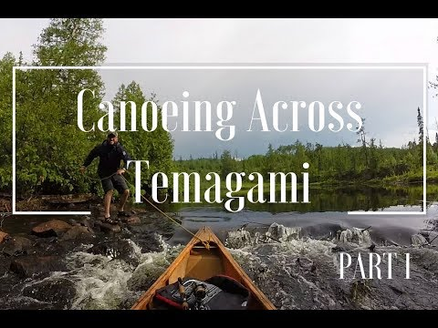 Canoeing Across Temagami - PART 1: Canada's Day on the Lady Evelyn