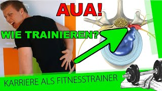 Bandscheibenvorfall! 6 Übungen für´s Training + Ursache, Symptome und wichtige Infos