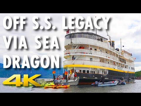 UnCruise Adventures Off the S.S. Legacy Via Sea Dragon ~ Alaska ~ Cruise Review [4K Ultra HD]