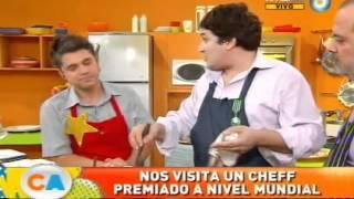 Risotto de quinoa y hongos de Mauro Colagreco