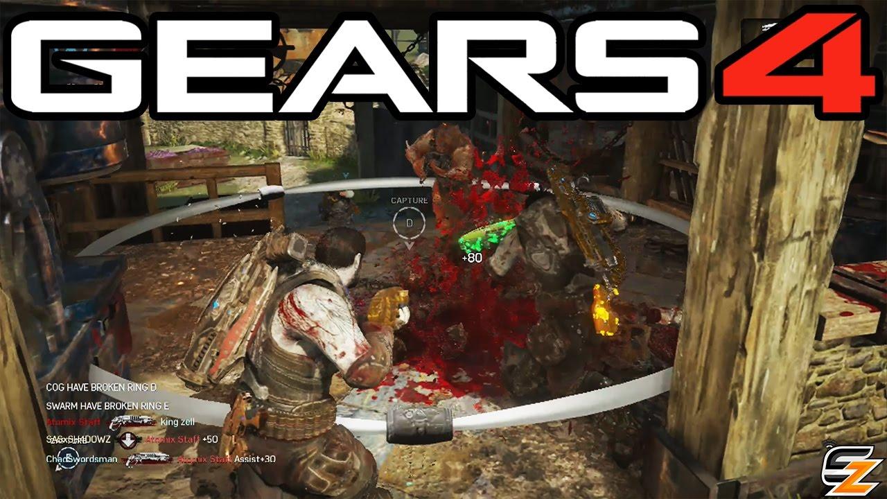 Gears of War 4 - Full Escalation Match on Reclaimed! (Gears of War 4  Multiplayer Gameplay)