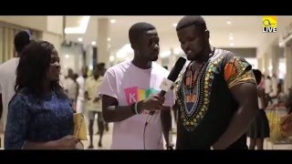 AMAKYE AND DEDE PREMIERING @WEST HILLS MALL