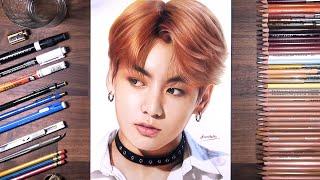 Drawing BTS Jungkook 정국  drawholic