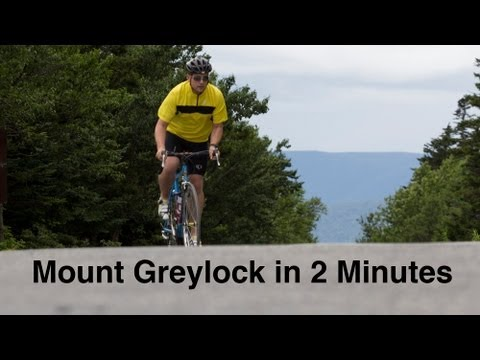 Biking to the Top: Mount Greylock in 2 Minutes