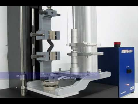 Rubber And Elastomer Tear Strength Test Astm D624 Youtube
