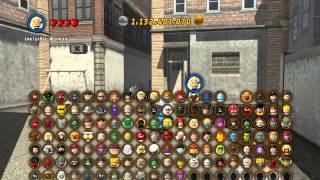 LEGO Marvel Super Heroes The Video Game - Mr Fantastic free roam