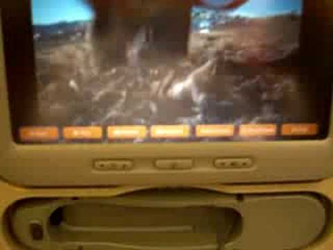 Jet Airways Economy Class TV (with Fast Forward and backward)