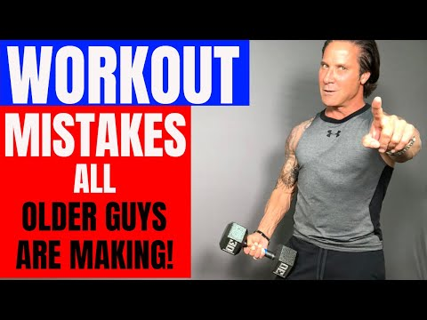 WORKOUT MISTAKES ALL OLDER MEN ARE MAKING! (BIGGEST WORKOUT MYTHS)