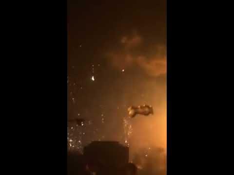 Tianjin explosion broken window!!