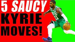 3881bf699e40 Kyrie Irving s SAUCIEST Crossover Combo Moves This Season! Basketball Moves  To Break Ankles!