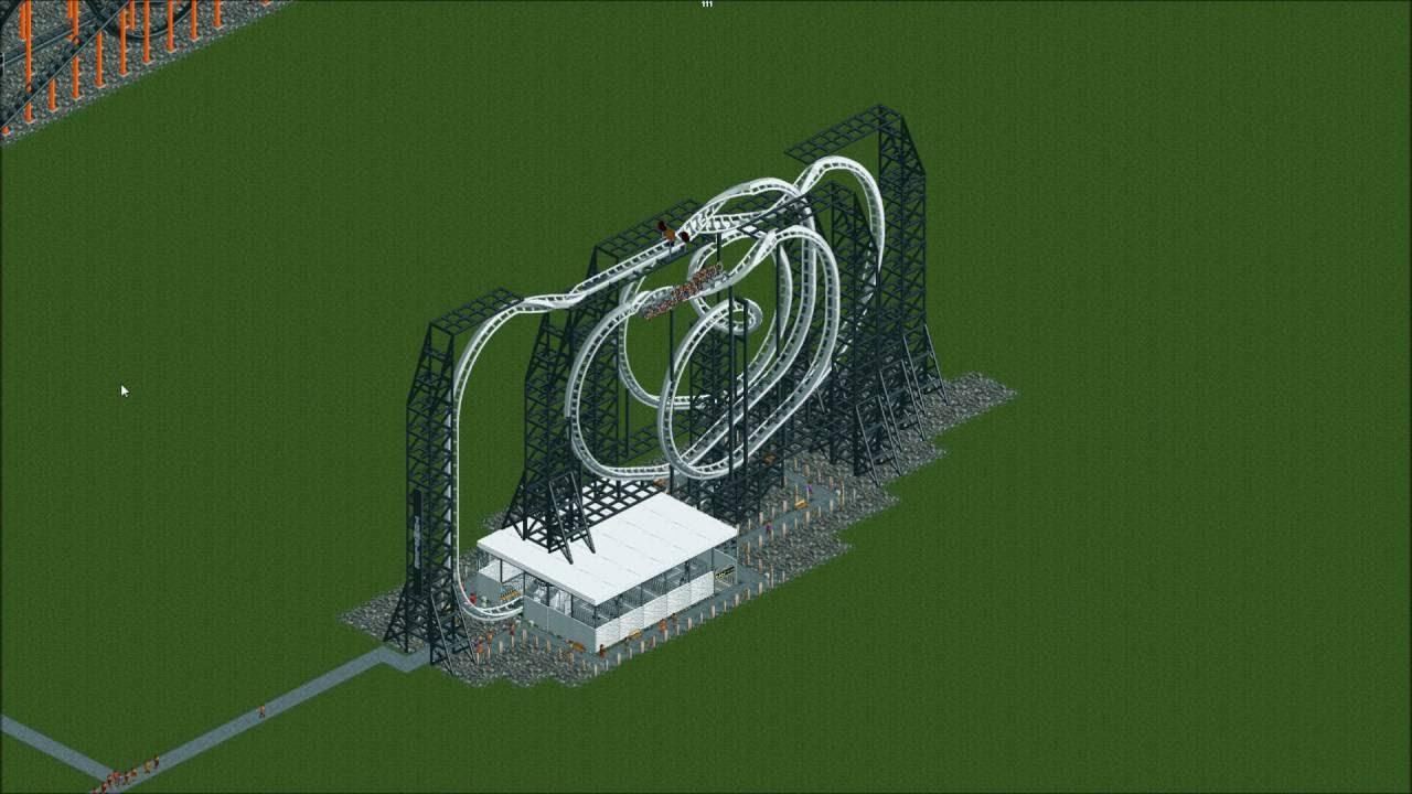 Tumbler (OpenRCT2 Coaster)