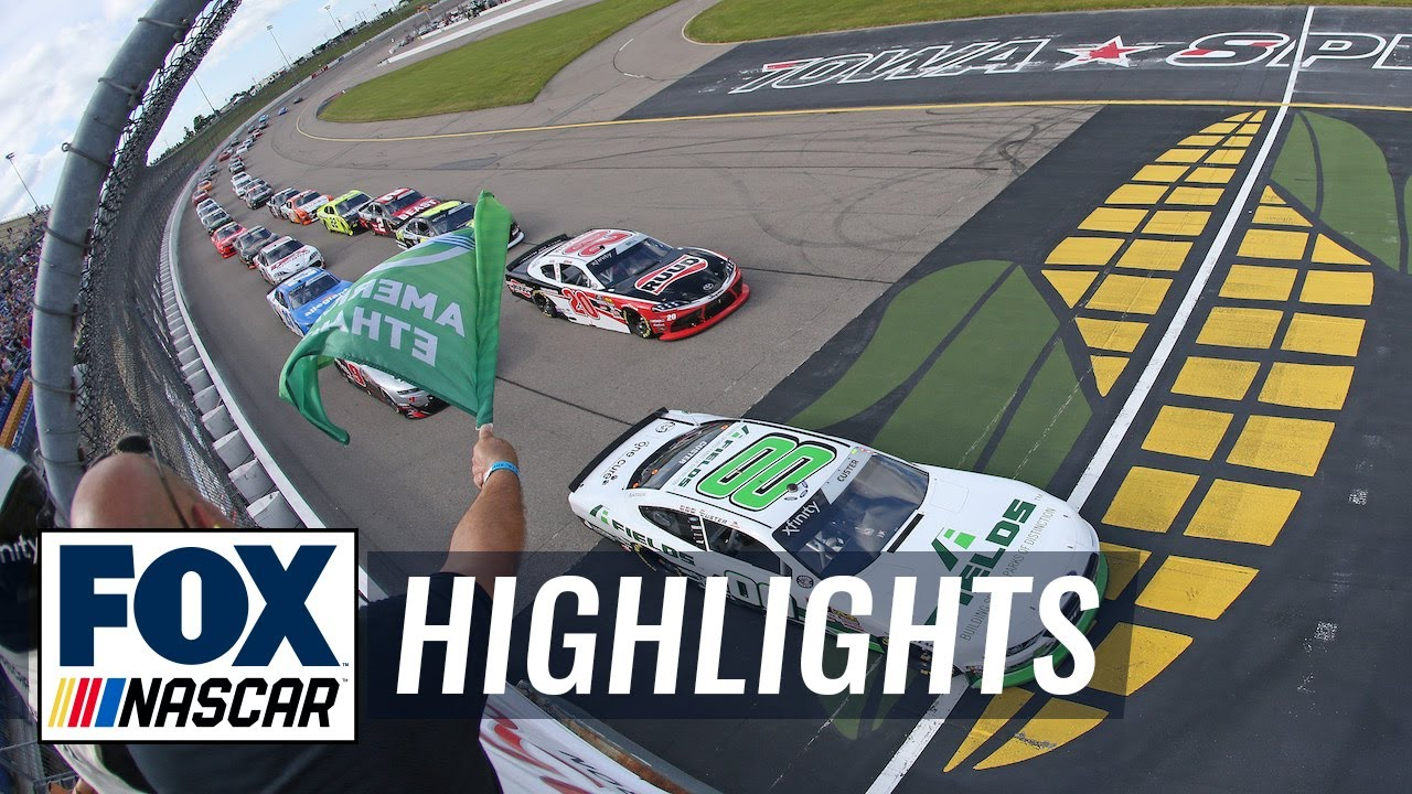CircuitCity.com 250 at Iowa | NASCAR on FOX HIGHLIGHTS