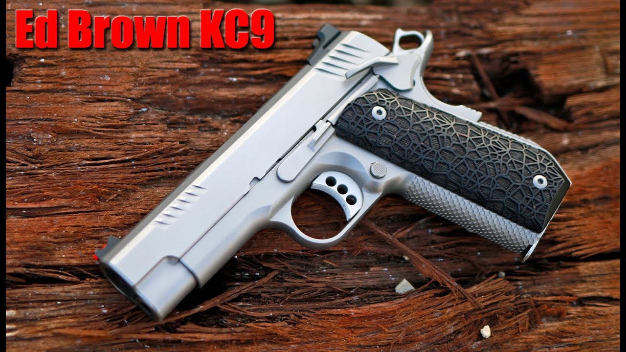 Ed Brown Evo KC9 1000 Round Review: A Custom 1911 For Less
