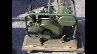 WW-2 P.E. 210 Generator