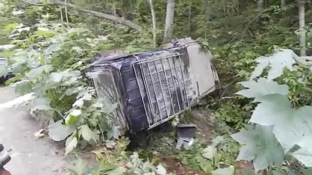 Долинск авария 13.07.2014 Сахалин