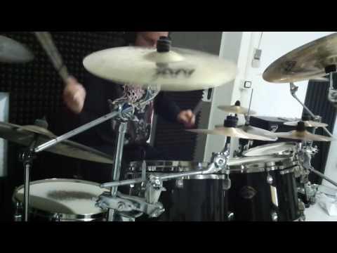 Tsjuder - Unholy Paragon - drum cover by Bestia
