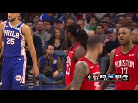 2nd Quarter, One Box Video: Philadelphia 76ers vs. Houston R