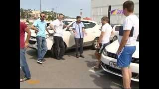 Сочинские таксисты устроили забастовку