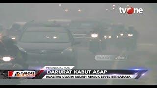 Dampak Kabut Asap, Kualitas Udara di Riau Sudah Masuk Level Berbahaya