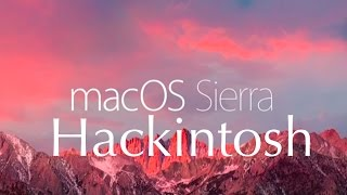 How to Install macOS Sierra 10 12 Hackintosh Z97 H97 H87 UEFI (In