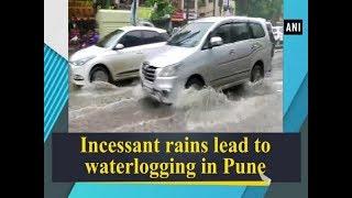 Incessant rains lead to waterlogging in Pune