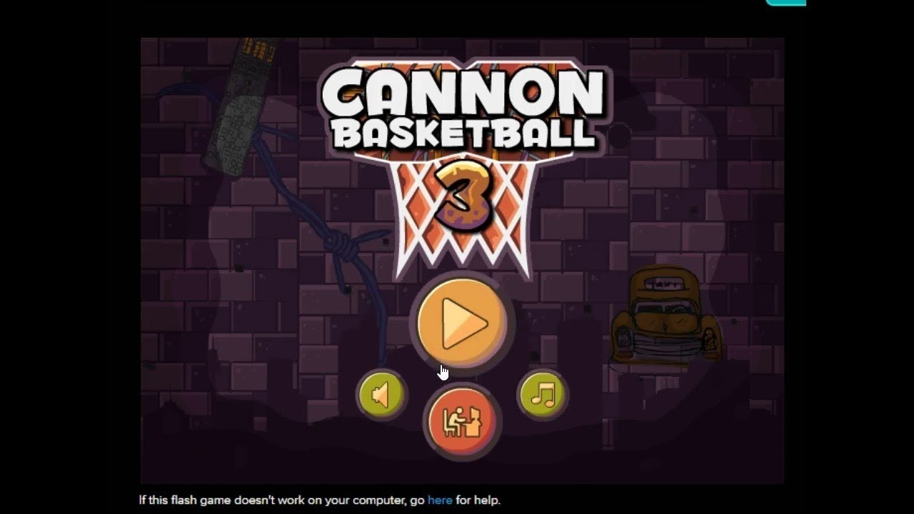 Cannon Basketball 3 - Play it now at Coolmath-Games.com