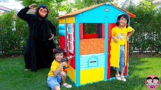 หนูยิ้มหนูแย้ม   บ้านหลังใหม่กับลิงจอมป่วน New Playhouse