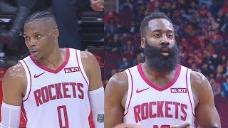 Russell Westbrook & James Harden Highlights vs Spurs! Spurs vs Rockets 2019 NBA Preseason