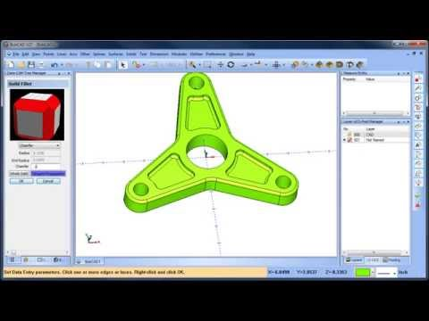 2D CAD Drawing Tutorial BobCAD CAM V27 Part 1