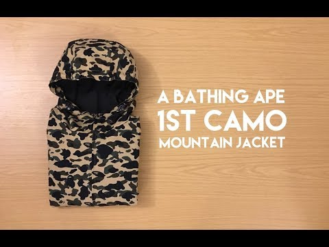 A Bathing Ape 1st Camo Mountain Jacket - Review