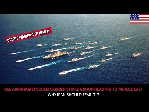 USS ABRAHAM LINCOLN CARRIER STRIKE GROUP HEADS TO MIDDLE EAST !!