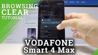 How to Clear Browsing Data in Vodafone Smart 4 Max