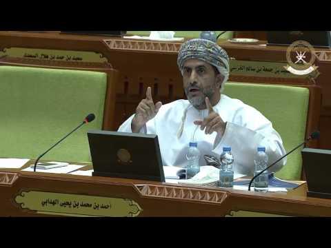 مداخلة سعادة أحمد بن محمد الهدابي ممثل ولاية بدبد 16 يناير 2017م