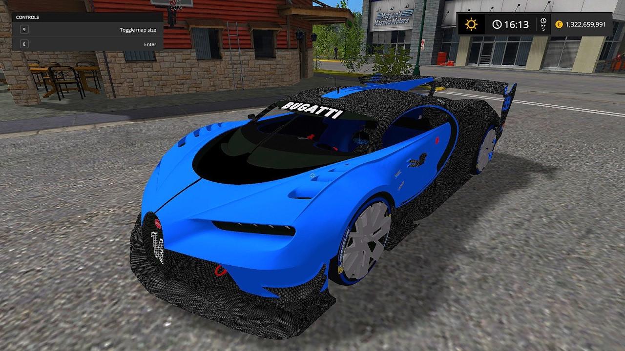 bugatti chiron vision gt fs17 farming simulator 17 youtube. Black Bedroom Furniture Sets. Home Design Ideas