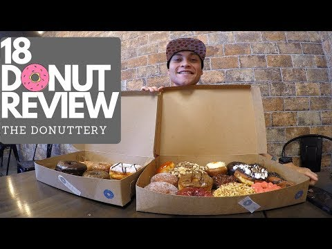 The Donuttery | 18 Donut Review