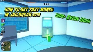 ROBLOX JAILBREAK HOW TO GET MONEY FAST