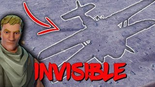 INVISIBILITY GLITCH IN FORTNITE SEASON 7!! USING THIS METHOD YOU WILL BECOME INVISIBLE