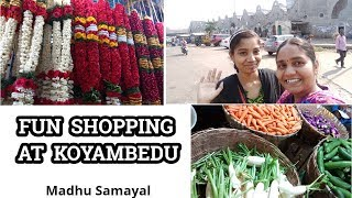 koyambedu Market Shopping/Pre-Preparations for 70 people cooking