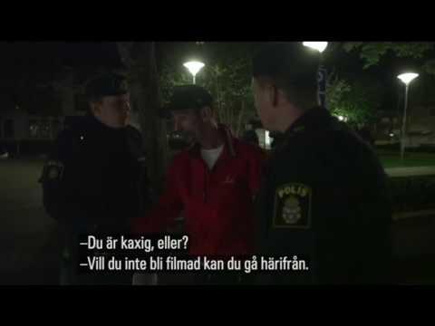 SVT och polisen blir attackerade och hotade av kriminella terrorister i Örebro