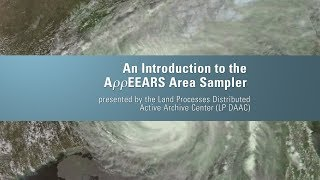 An Introduction to the AppEEARS Area Sampler