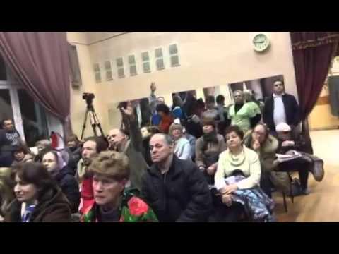 Публичные слушания ТПУ Чертановская - Часть 3 - 25.12.2015 в школе 1179
