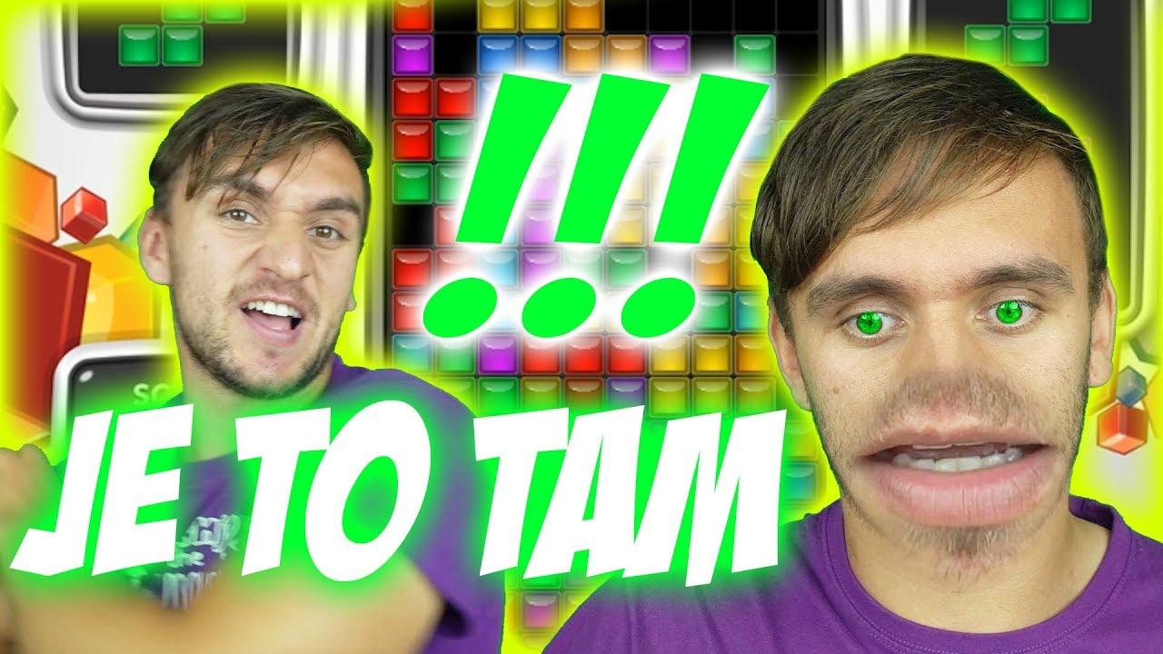 Udělal jsem světový rekord v Tetrisu! | Tary hraje #2