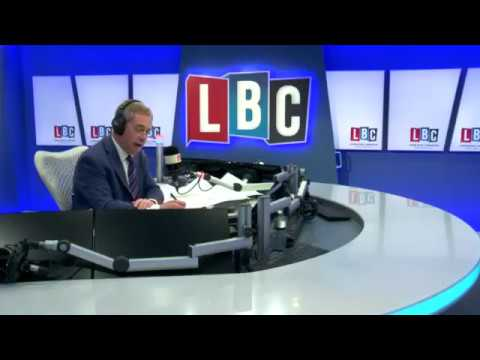 The Nigel Farage Show LBC Live. Work & Migrants/Hate Crime 12/01/17.